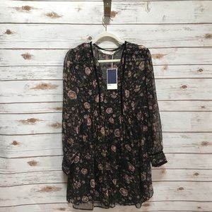 NWT Zara Floral Dress Size Medium